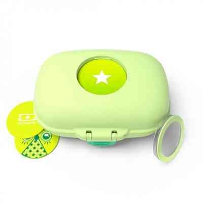Fiambrera infantil personalizable con cierre de seguridad y fácil manejo