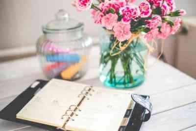 Agenda de citas y decoración