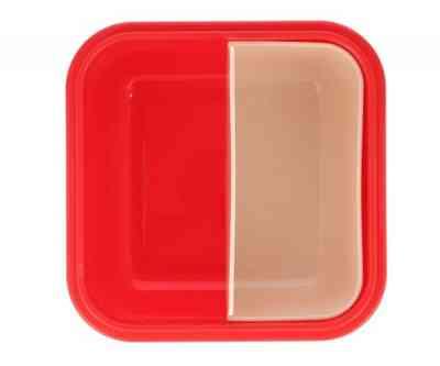 Caja con compartimentos de la fiambrera Circus