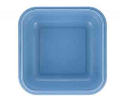 Caja azul de la fiambrera Little monsters